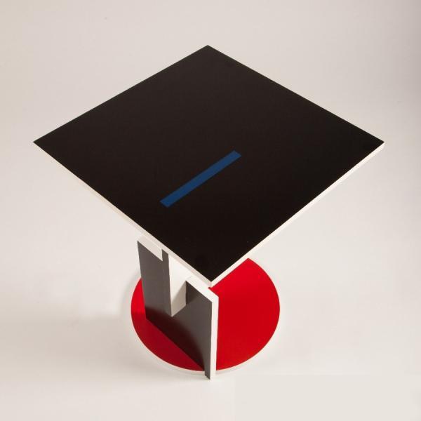 シュローダー1 リートフェルト テーブル Schroeder1 イタリア製 スチールライン社|furniture-direct|05