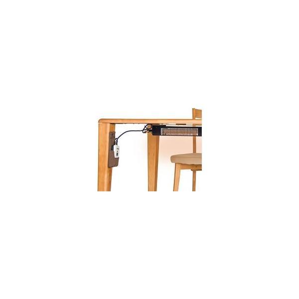 ステルス 17 ヒーター付 ダイニングテーブル 4本脚 120テーブルトップ|furniture-direct|02