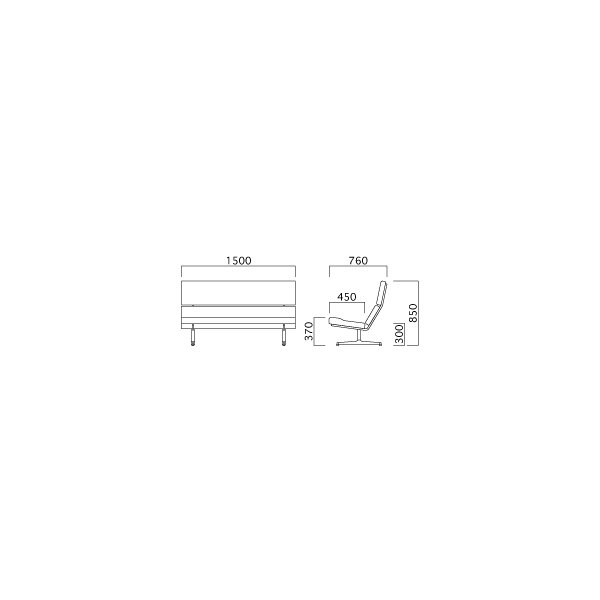 SWITCH ソファ  オシャレな ソファ  スイッチ  ラボソファ Labo NC布 日本製|furniture-direct|04