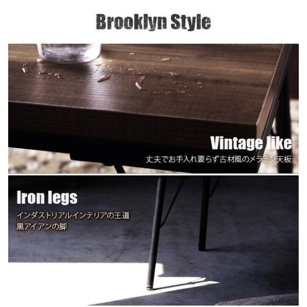こたつテーブル おしゃれ 正方形 古材風アイアンこたつテーブル 80×80