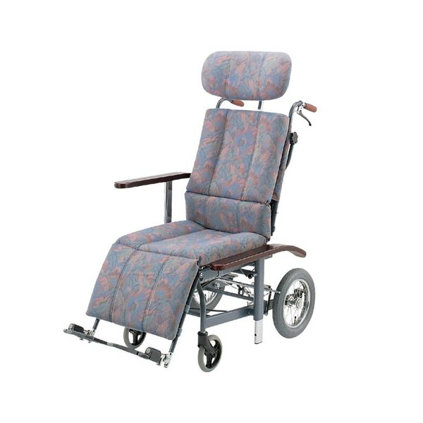 スチールフルリクライニング式介助車いす / NHR-11 抗菌・防臭シート採用 1台|furnitures