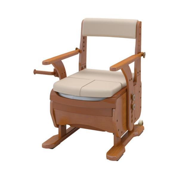 安寿 家具調トイレセレクトR ノーマル / 533-854 ソフト・快適脱臭 1台|furnitures
