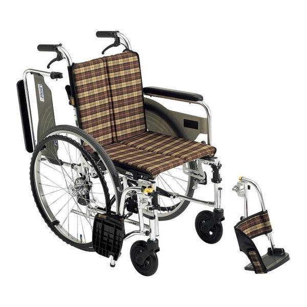 アルミ自走車いす SKT-4 オプションシート仕様 / 座幅40cm P-08/09(ブルー) 1台