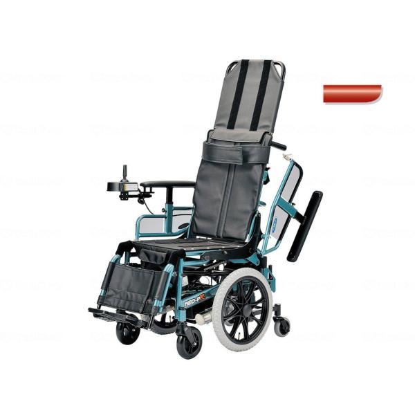 電動リクライニング車いす NEO-PRリクラ フォーミュラーレッド 4.5km仕様・座幅40cm|furnitures