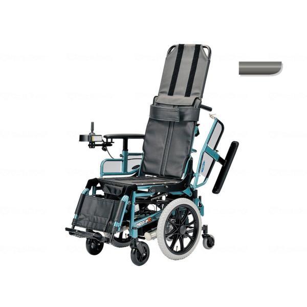 電動リクライニング車いす NEO-PRリクラ ガンメタ 4.5km仕様・座幅40cm|furnitures