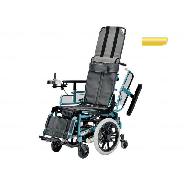 電動リクライニング車いす NEO-PRリクラ パールイエロー 6.0km仕様・座幅40cm|furnitures