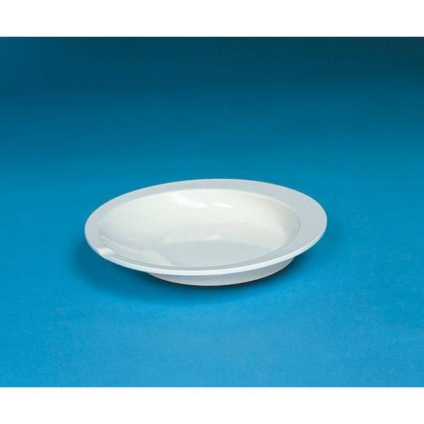 すくいやすい皿 アイボリーF50100