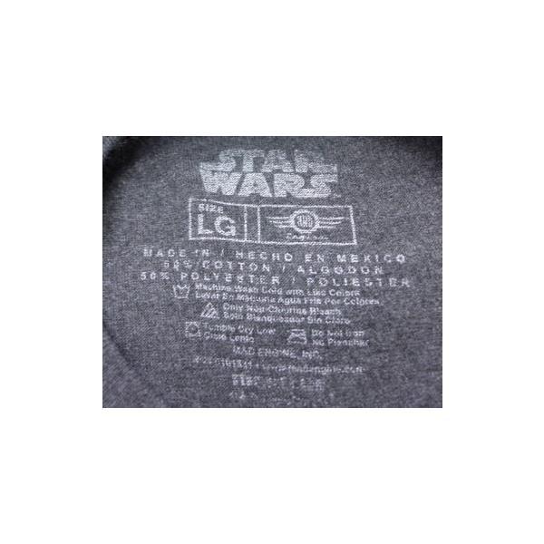 L/古着 Tシャツスターウォーズ BB-8 濃グレー 霜降り 19jun18 中古 メンズ 半袖|furugiyarushout|02