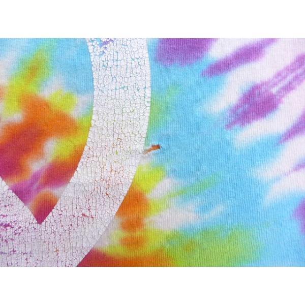 L/古着 Tシャツ ピースマーク 紫他 パープル タイダイ 19aug22 中古 メンズ 半袖|furugiyarushout|06
