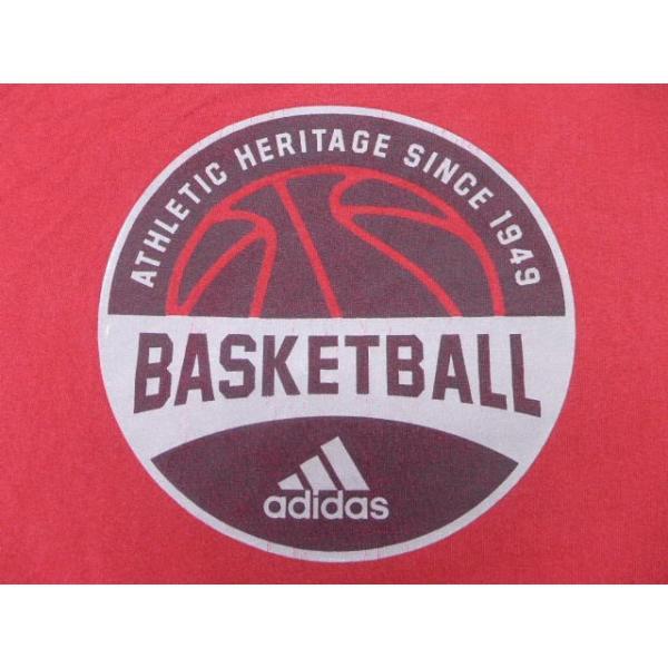 XL/古着 ノースリーブ ビンテージ Tシャツ アディダス adidas バスケットボール 赤 レッド 19jul08 中古 メンズ|furugiyarushout|04