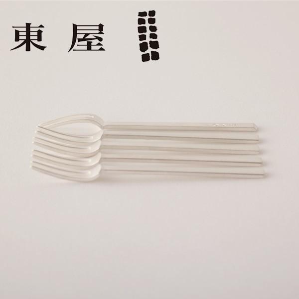 東屋 (あづまや) 姫フォーク 真鍮銀めっき 5本セット|furukawaseika