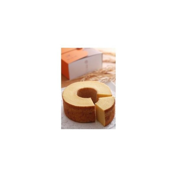 ふるさと納税 コウノトリ育むお米使用 米粉バウムクーヘン(H6cm)兵庫県豊岡市