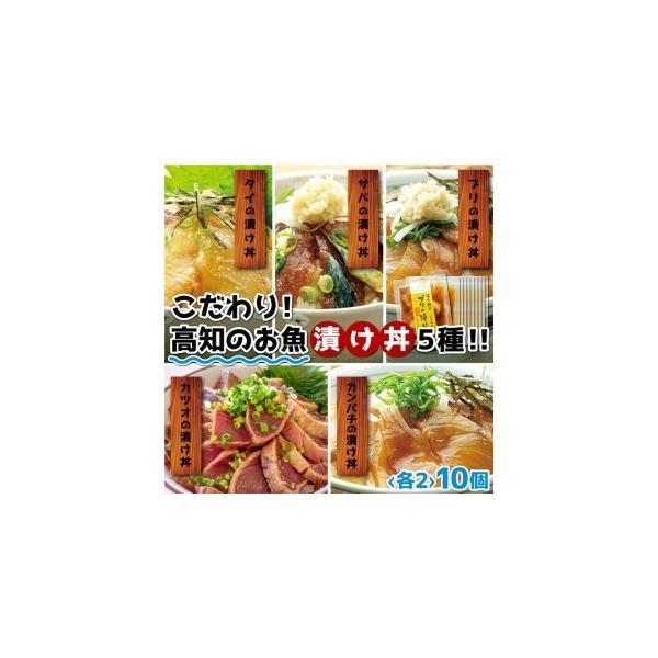 ふるさと納税MM015こだわり 高知のお魚づけ丼×2セット高知県須崎市