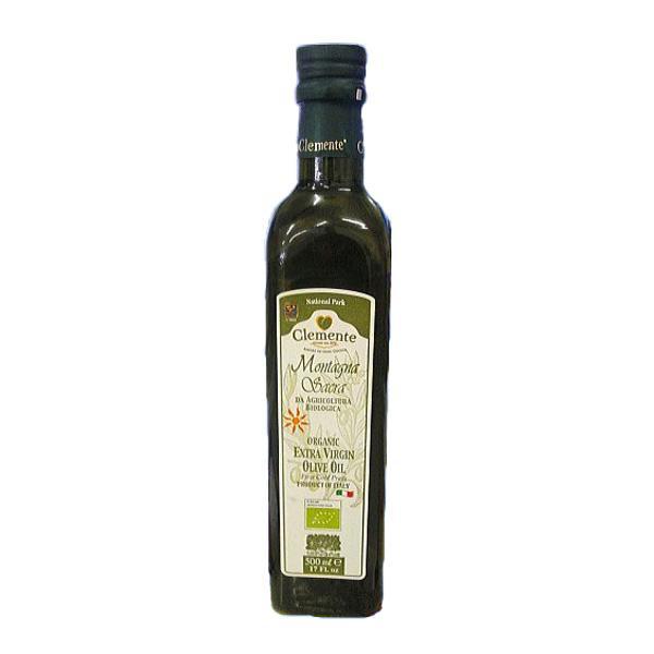 オーガニックエキストラバージンオリーブオイル クレメンテサクラ500ml 有機栽培 フレッシュな味わい 御中元 お歳暮 贈り物に最適