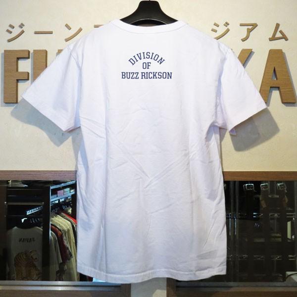 バズリクソンズ スヌーピーTシャツ Buzz Rickson's×PEANUTS 半袖Tシャツ【BR78126】101番色(ホワイト)|furutaka|02