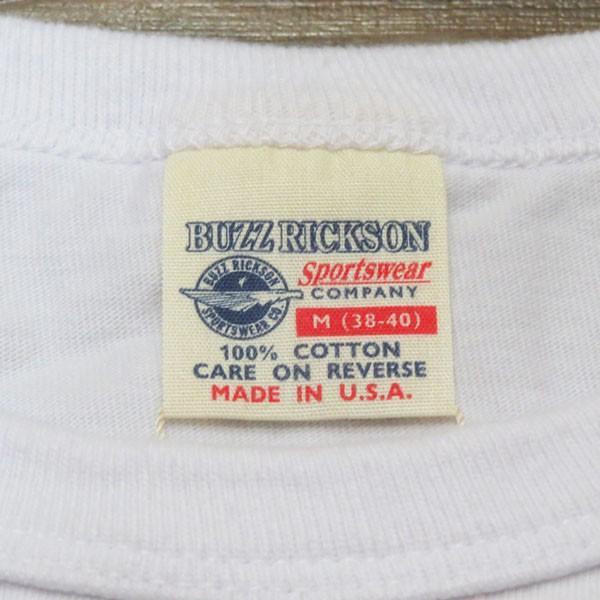 バズリクソンズ スヌーピーTシャツ Buzz Rickson's×PEANUTS 半袖Tシャツ【BR78126】101番色(ホワイト)|furutaka|03