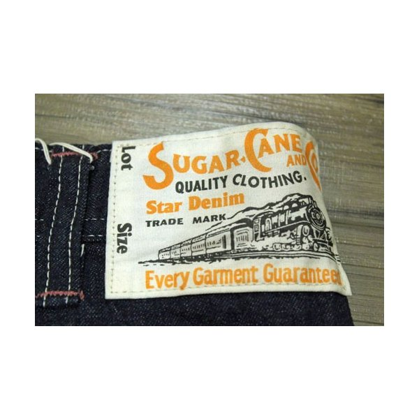シュガーケーン ペインターパンツ Sugar Cane 11オンスブルーデニムワークパンツ【SC41633】421番色(ワンウォッシュ)|furutaka|06