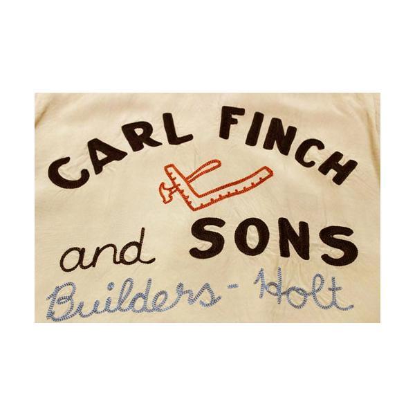スタイルアイズ Style Eyes CARL FINCH and SONS レーヨンボーリングシャツ W/CHAIN EMB'D 【SE37798】133番色(ベージュ)|furutaka|05