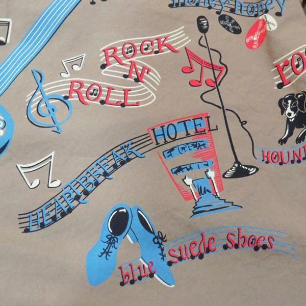 スターオブハリウッド Star☆OF HOLLYWOOD ROCK'NROLL GUITAR 半袖オープンシャツ【SH38117】115番色(グレー) furutaka 08