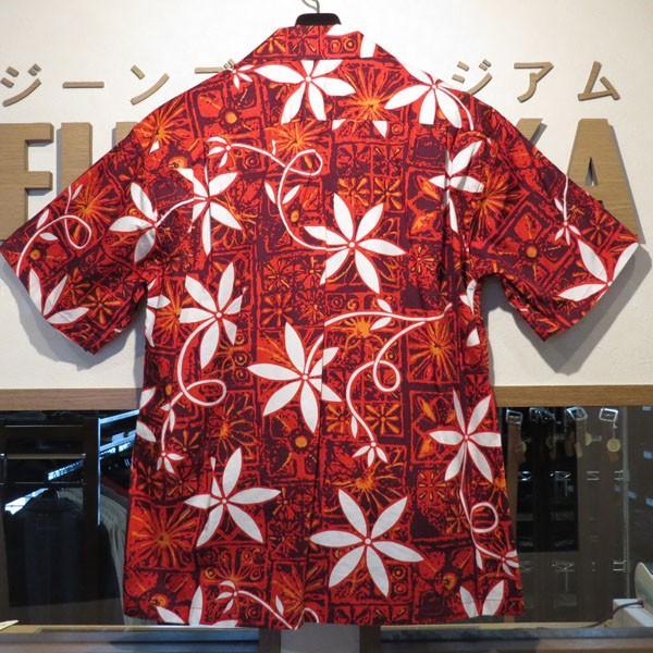 スターオブハリウッド Star☆OF HOLLYWOOD BLUE HAWAII 半袖オープンシャツ【SH38118】165番色(レッド)|furutaka|02