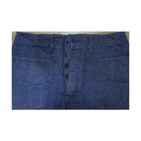 【売切れ】ユニオンサプライ UNION SUPPLY 12オンス AHINA WORK PANTS【US41490】421番色(ワンウォッシュ) furutaka 02