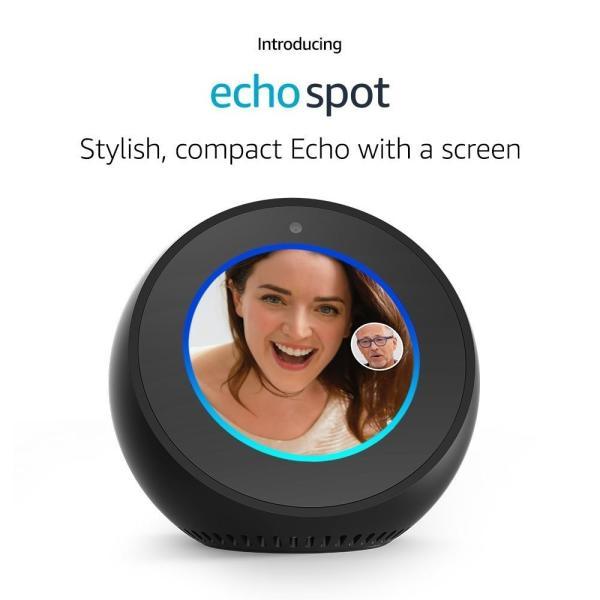 セット販売 送料無料 Amazon echo spot アマゾンエコースポット 本体 第2世代 10台セット スマートスピーカー AI|fusigi|02