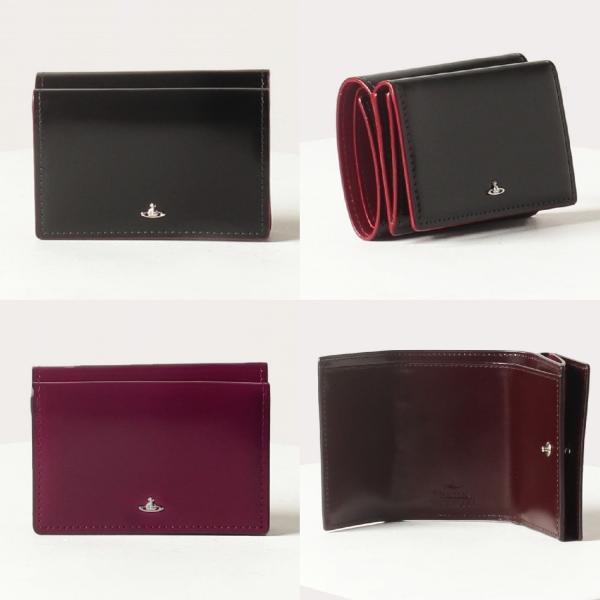 Vivienne Westwood(ヴィヴィアン・ウエストウッド)『SIMPLE TINY ORB 三つ折りミニ財布(3318D7J)』