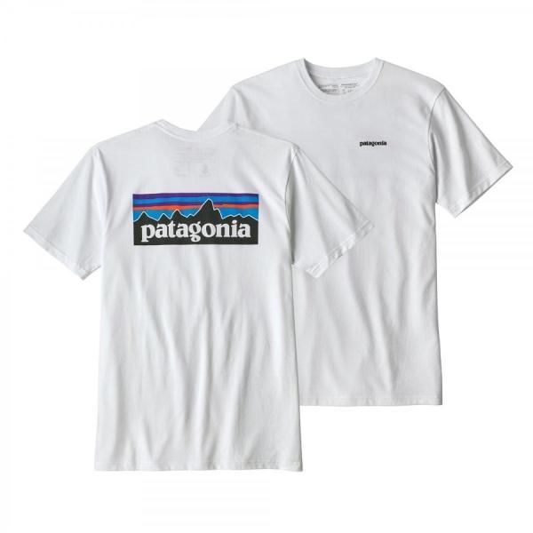 パタゴニア * Patagonia Tシャツ P-6ロゴ レスポンシビリティー Tシャツ メンズ ホワイト ブラック 2色|fusionusa|02