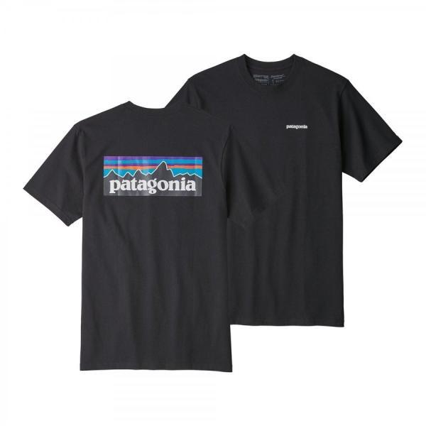 パタゴニア * Patagonia Tシャツ P-6ロゴ レスポンシビリティー Tシャツ メンズ ホワイト ブラック 2色|fusionusa|03