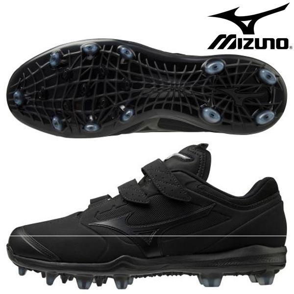 ミズノ MIZUNO ベルト 野球 スパイク ドミナント3TPU BLT 11GP2023-00 樹脂 ベルクロ ブラック 黒 11GP202300
