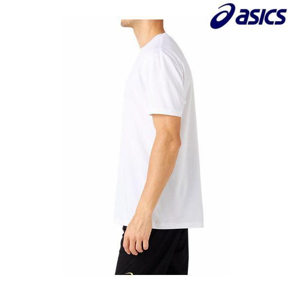 アシックス asics ワンポイントTシャツ 2031A664 メンズ トレーニング ウエア Tシャツ ランニング ジョギング 部活練習着 洗い替え バスケ バレー|futabaathlete|03