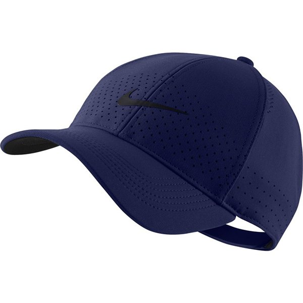 即出荷 ナイキNIKEエアロビルレガシー91キャップAV6953-492メンズレディース帽子ランニングジョギング運動日よけブル