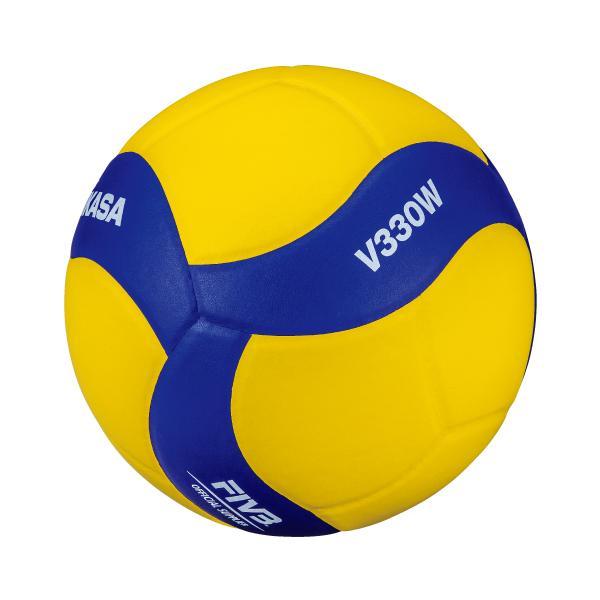 ネーム料無料 ミカサ練習球5号バレーボール V320W 高校・大学・社会人用 ミカサ バレーボール