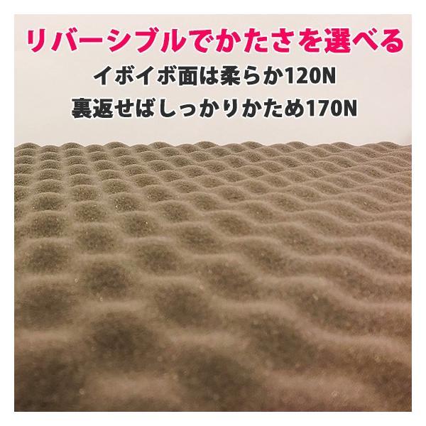 (90日返品保証あり) 高反発マットレス エイプマンパッド307(シングル)ミッドブルー|futon-king|02