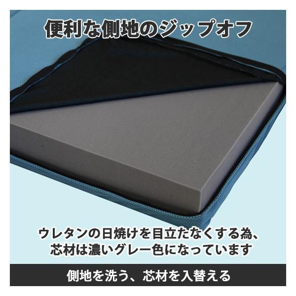(90日返品保証あり) 高反発マットレス エイプマンパッド307(シングル)ミッドブルー|futon-king|05