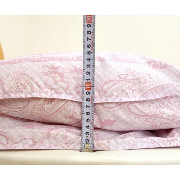 西川 羽毛布団 ランキング入り シングル ダウン90% 2枚合わせ 洗える|futon|09