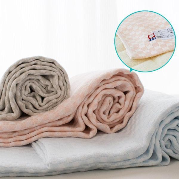 タオルケット 今治 シングル 日本製 朱子織り スーピマコットン タオルケット わた音|futon|15