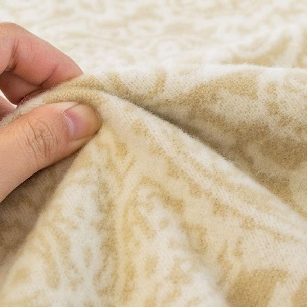 ウール毛布 シングル 日本製 毛羽部分 羊毛100% 獣毛 ブランケット 掛け毛布 ロマンス小杉|futon|06