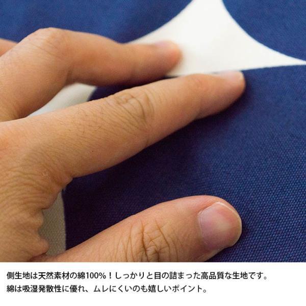 シートクッション ラウンド 直径45cm 厚み15cm ハイタイプ 日本製 体圧分散 硬質ウレタン クッション|futon|03