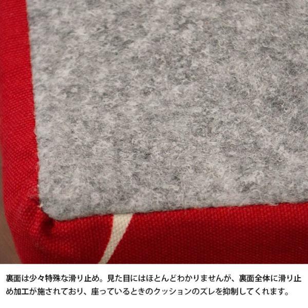 シートクッション ラウンド 直径45cm 厚み15cm ハイタイプ 日本製 体圧分散 硬質ウレタン クッション|futon|06