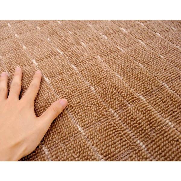 カーペット 1畳 絨毯 滑り止め付 フリーカット 日本製 グリッパー 江戸間 88×176cm|futon|04