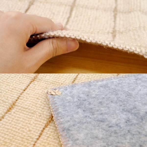 カーペット 1畳 絨毯 滑り止め付 フリーカット 日本製 グリッパー 江戸間 88×176cm|futon|05