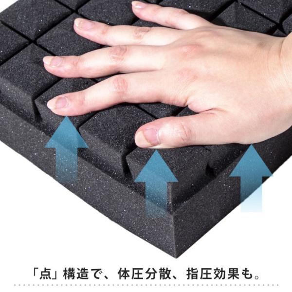 マットレス 敷布団 敷き布団 高反発 シングル 厚み8cm 体圧分散 三つ折り 敷きふとん ライズTOKYO|futon|07