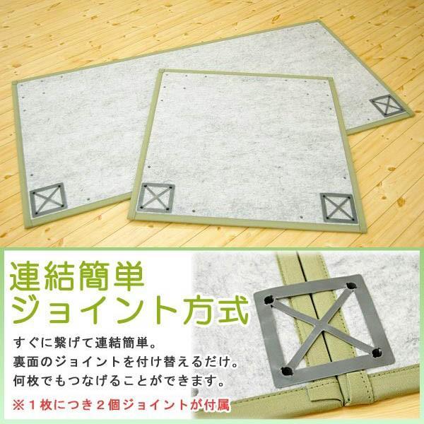 置き畳 い草ユニット畳 半畳 約82×82×厚み1.5cm 純国産 抗菌 防臭 防虫 防カビ|futon|04