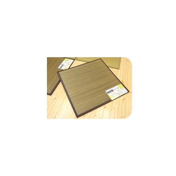 低反発 い草ユニット畳 半畳 約82×82×厚み2.2cm 防音&クッション性UP 抗菌 防臭 防虫 防カビ 置き畳 タイド|futon|06