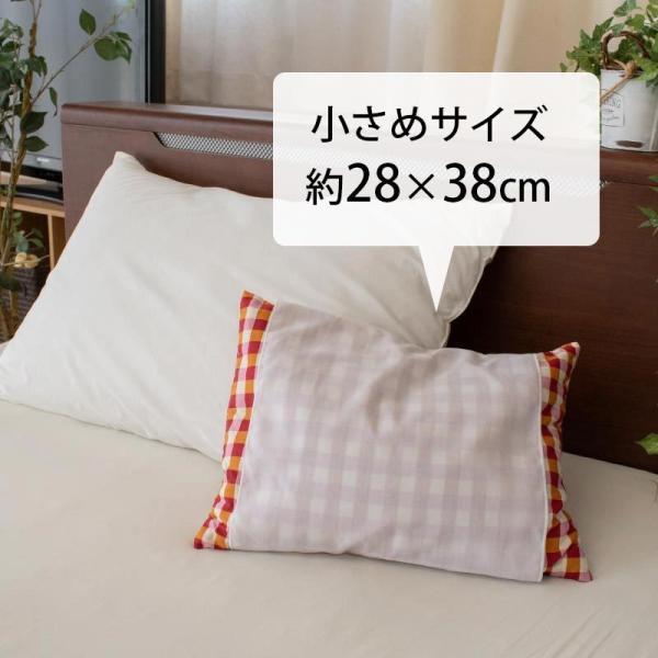 枕 まくら マクラ そばがら枕 色柄おまかせ 28×38cm 日本製 まくら そば殻 快眠枕|futon|02