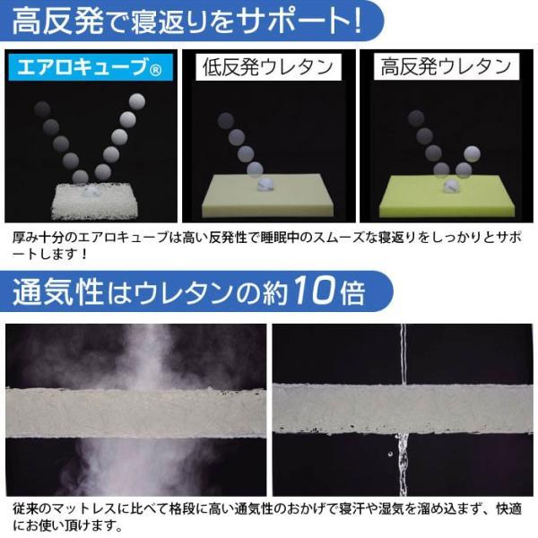 エアリーマットレス ハイグレード HG90 ダブル 三つ折り 高反発マットレス アイリスオーヤマ|futon|04