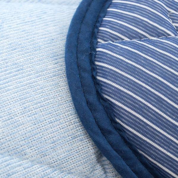 冷感 ひんやり枕パッド 43×63cm用 東京西川 接触冷感 タオル地 リバーシブル 枕カバー|futon|06