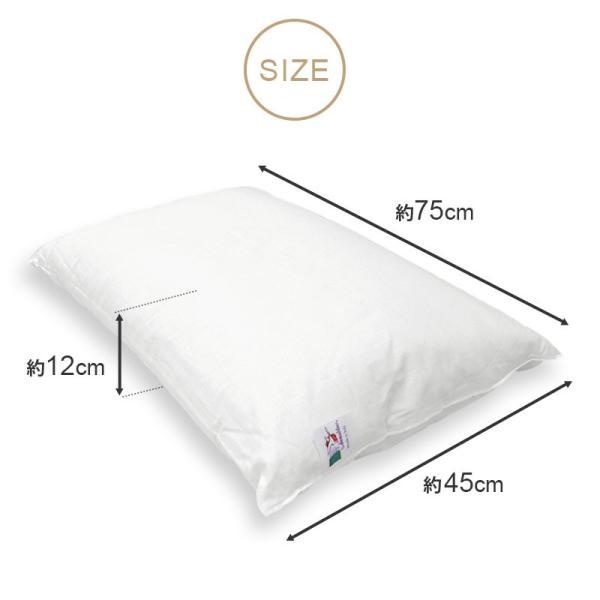 枕 まくら オルトペディコ アンナブルー スリープメディカル枕 専用ピロケース付き セット futon 12