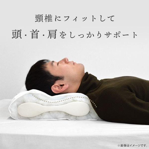 枕 まくら オルトペディコ アンナブルー スリープメディカル枕 専用ピロケース付き セット futon 05
